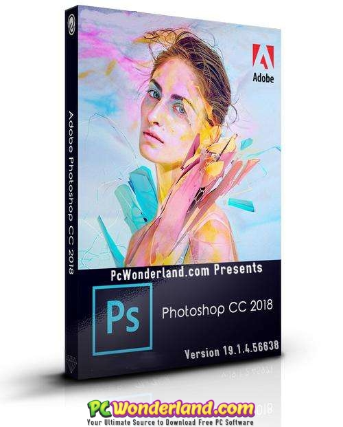 Adobe Photoshop CC 2018 19 1 4 56638 Free Download - PC