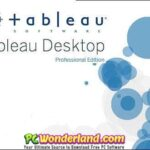 Tableau Desktop Professional Edition 2018.1.2 and 10.4.0 Free Download