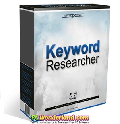 Keyword Researcher Pro 11 404 Free Download - PC Wonderland