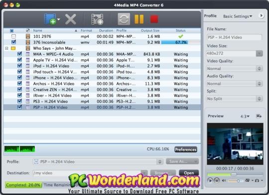 MP4 To MP3 Converter 4 2 0 Free Download - PC Wonderland