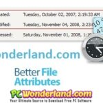 Better File Attributes 2.11.0 Free Download
