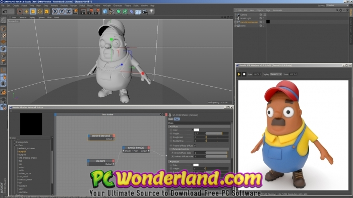 Solid Angle Arnold for Cinema 4D 2 4 0 1 And R17 to R20 Free