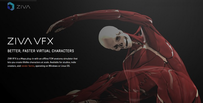 Ziva Dynamics VFX 1 2 for Maya 2014-2018 Free Download - PC