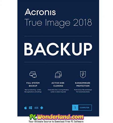 Acronis True Image 2019 Build 14110 + Bootable ISO Free