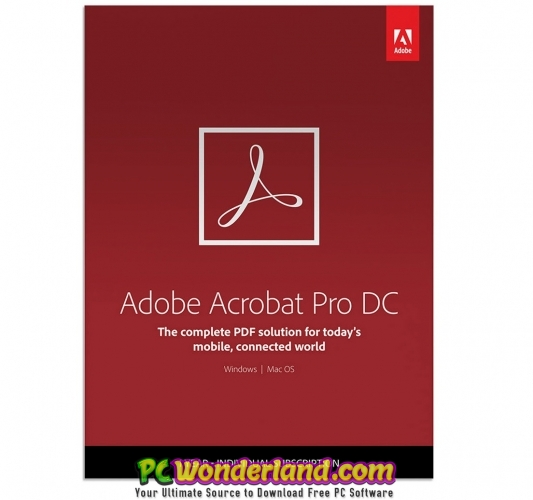 Adobe Acrobat Pro DC 2018 011 20055 Free Download - PC