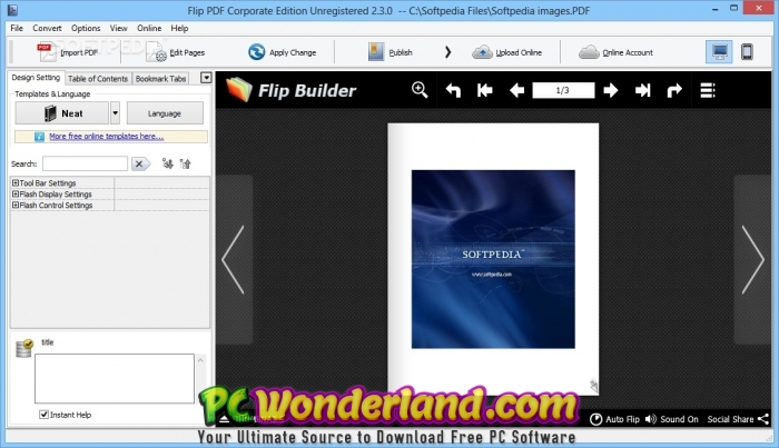 Flip PDF Corporate Edition 2 4 9 25 Portable Free Download