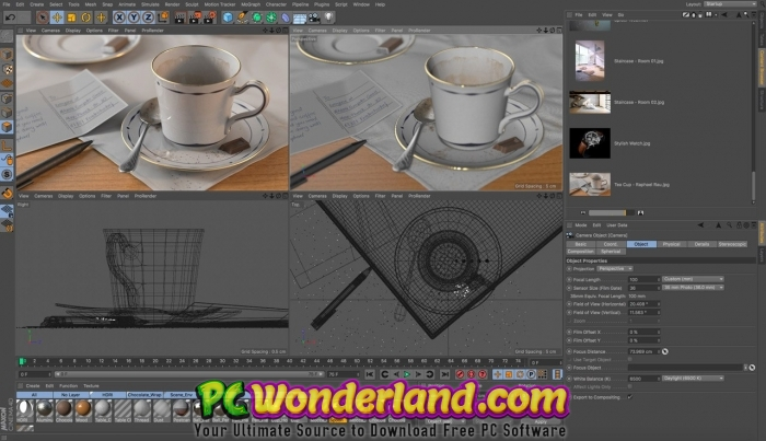 Maxon Cinema 4D Release R20 026 Build RB251664 Free Download