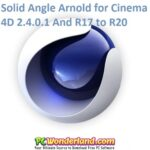 Solid Angle Arnold for Cinema 4D 2.4.0.1 And R17 to R20 Free Download