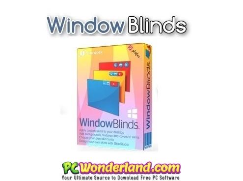 Stardock WindowBlinds 10 71 Free Download - PC Wonderland