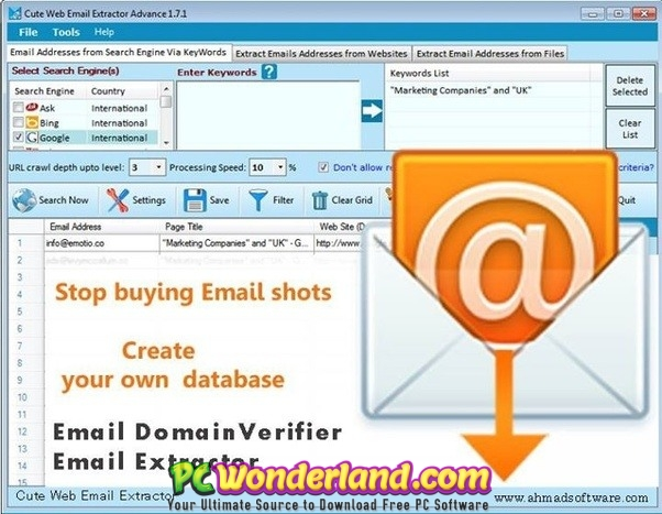 VovSoft Vov Email Extractor 2 4 Free Download - PC Wonderland