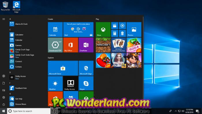 Windows 7-8 1-10 Pro x86 x64 Sep 2018 Single ISO Free Download - PC