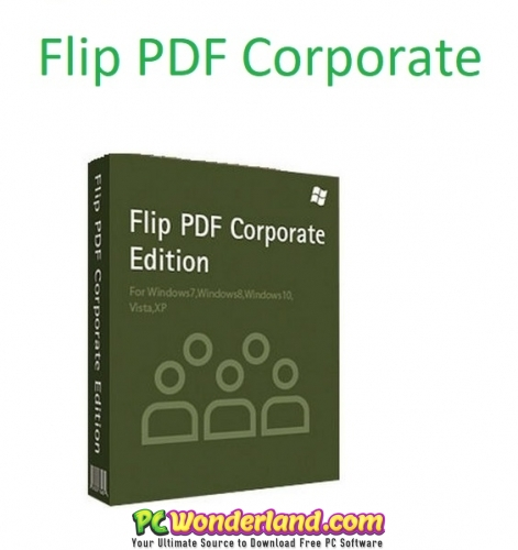 Flip PDF Corporate Edition 2.4.9.25  Portable Free Download