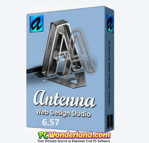 Antenna Web Design Studio 6 57 Free Download Pc Wonderland