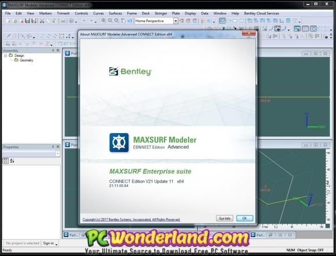 Bentley Maxsurf Connect Edition 21 Free Download - PC Wonderland