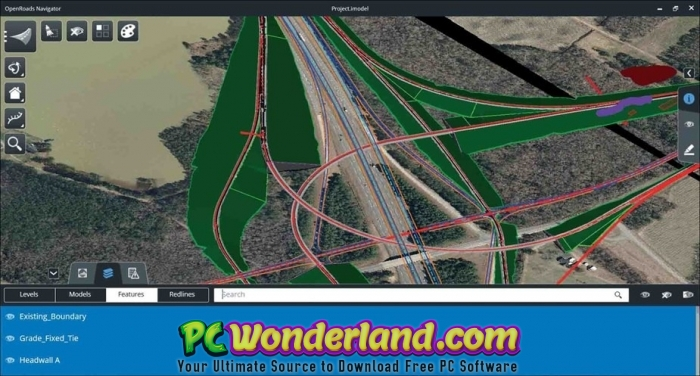 Bentley OpenRoads Designer CONNECT Edition 2018 Free Download - PC