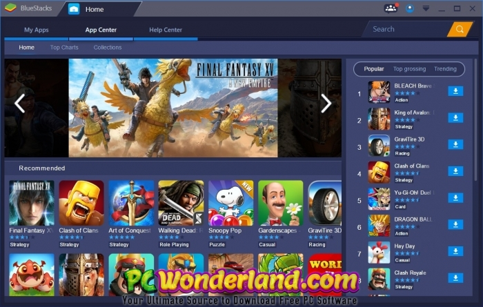 BlueStacks 4 Free Download - PC Wonderland