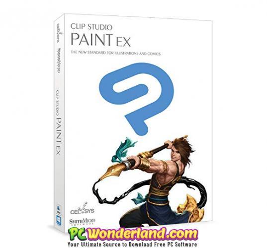 Clip Studio Paint EX 1.8 Free Download - PC Wonderland