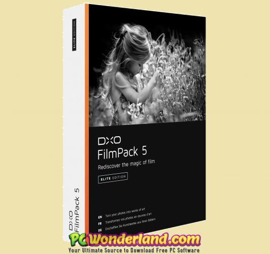 DxO FilmPack Elite 5 5 18 Build 582 Free Download - PC Wonderland