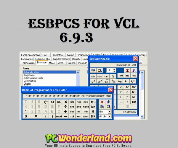ESBPCS for VCL 6 9 3 Free Download - PC Wonderland