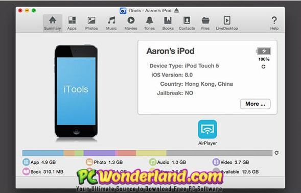 ITools Pro 4 3 9 5 Windows and 1 8 0 4 macOS Free Download - PC