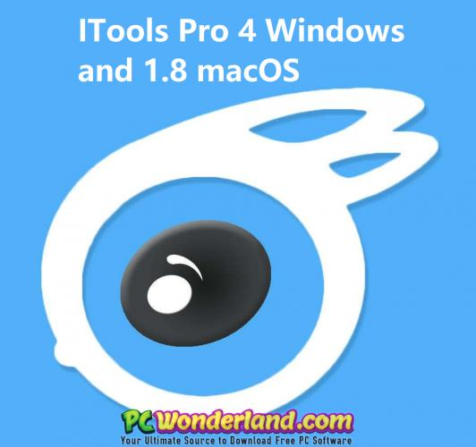 ITools Pro 4 3 9 5 Windows and 1 8 0 4 macOS Free Download
