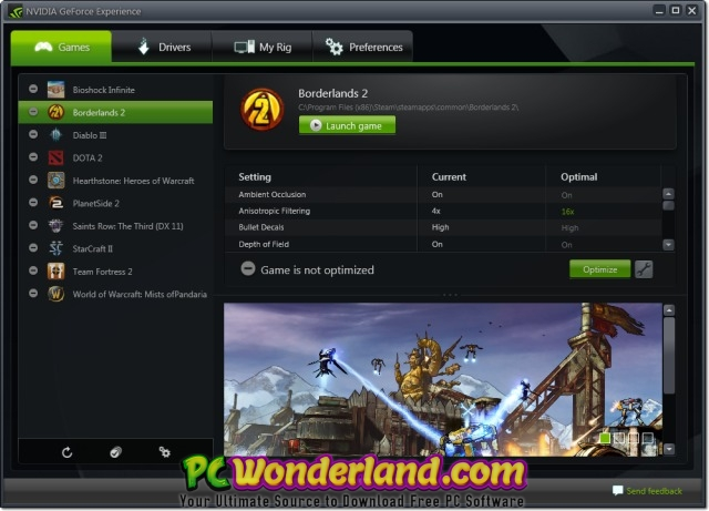 NVIDIA GeForce Experience 3 15 0 186 Free Download - PC Wonderland