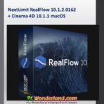 NextLimit RealFlow 10.1.2.0162 + Cinema 4D 10.1.1 macOS Free Download