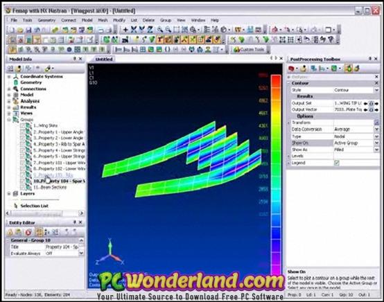 Siemens FEMAP 12 0 with NX Nastran Free Download - PC Wonderland