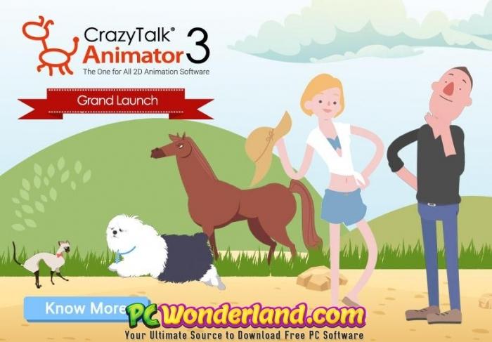 CrazyTalk Animator 3 Pipeline Free Download - PC Wonderland