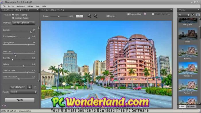 HDRsoft Photomatix Pro 6 Portable + macOS Free Download - PC