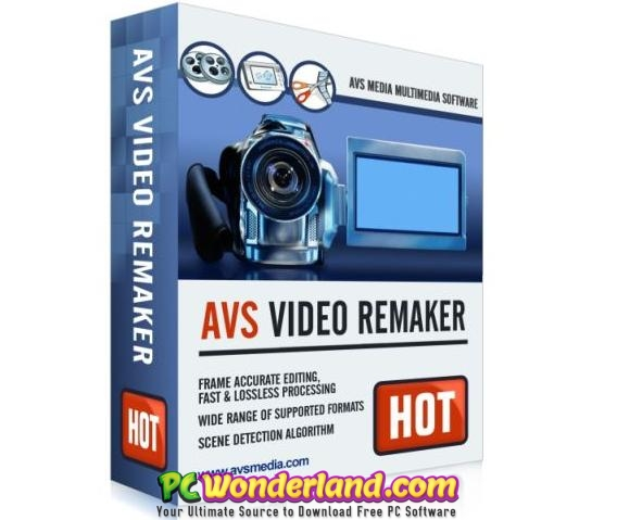 AVS Video ReMaker 6 Portable Free Download - PC Wonderland