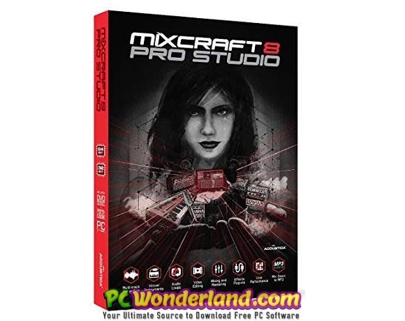 Acoustica Mixcraft Pro Studio 8 Build 415 Free Download - PC
