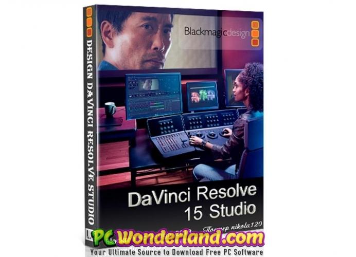 DaVinci Resolve Studio 15 Free Download - PC Wonderland