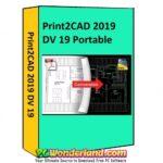 Print2CAD 2019 DV 19 Portable Free Download