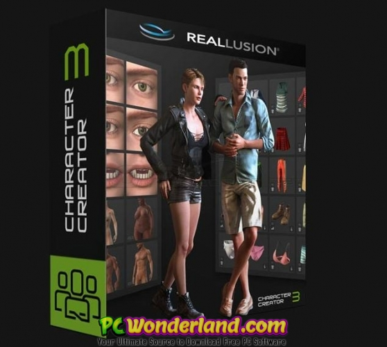 Reallusion Character Creator 3 Pipeline Free Download Pc Wonderland