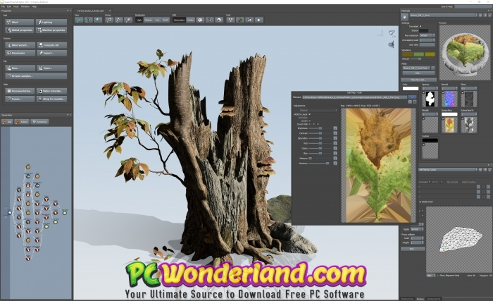 SpeedTree Modeler 8 Cinema Edition Free Download - PC Wonderland