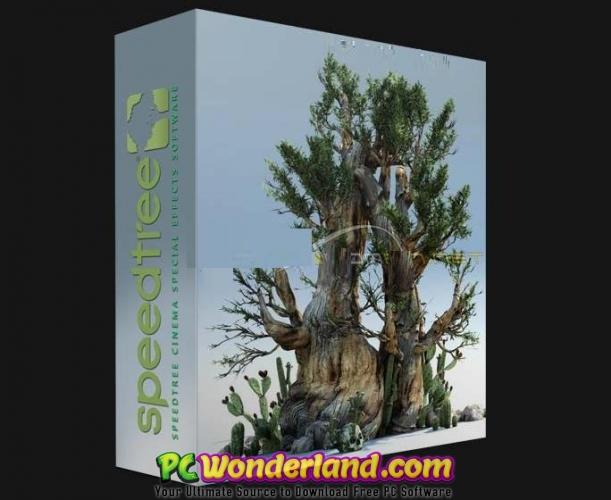 SpeedTree Modeler 8 Cinema Edition Free Download - PC Wonderland