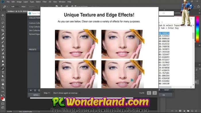 Topaz Plug-ins Bundle for Adobe Photoshop 2018 Windows and