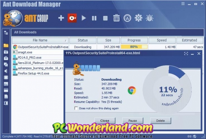 Ant Download Manager Pro 1 11 3 Build 55767 Free Download - PC