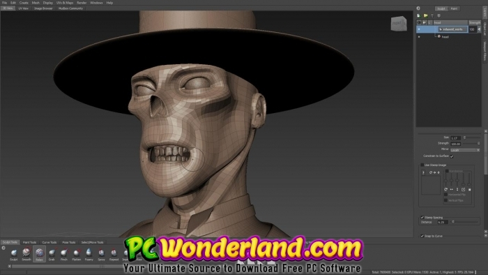 AutoDesk Mudbox 2019 Free Download - PC Wonderland