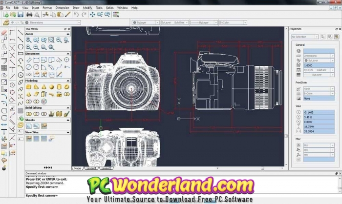 CorelCAD 2018 + Portable And 2019 macOS Free Download - PC