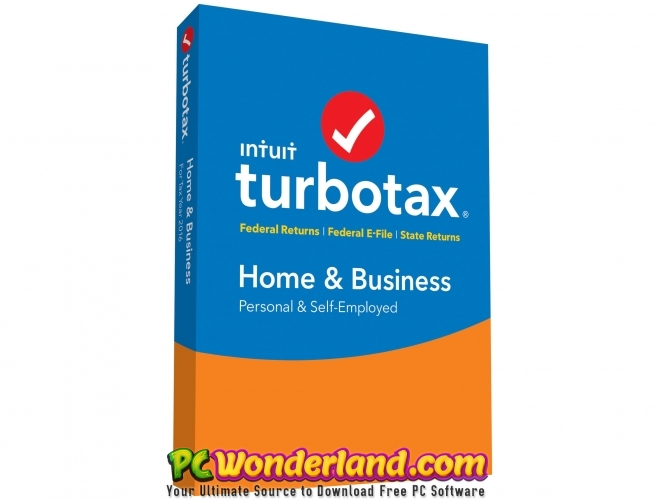 Intuit TurboTax Home And Business 2018 Free Download - PC