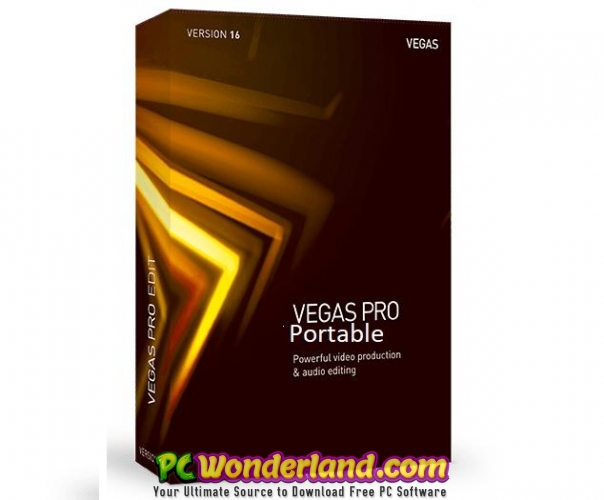 MAGIX VEGAS Pro 16 0 0 361 Portable Free Download - PC Wonderland