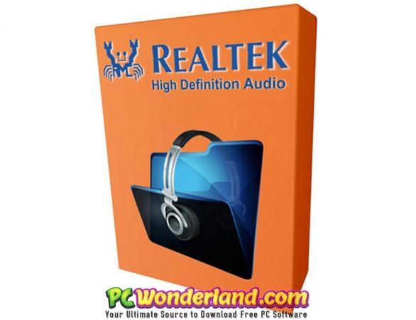 Realtek High Definition Audio Drivers 6 0 1 8619 Free