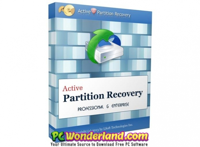 Active Partition Recovery Ultimate 18 Free Download - PC Wonderland