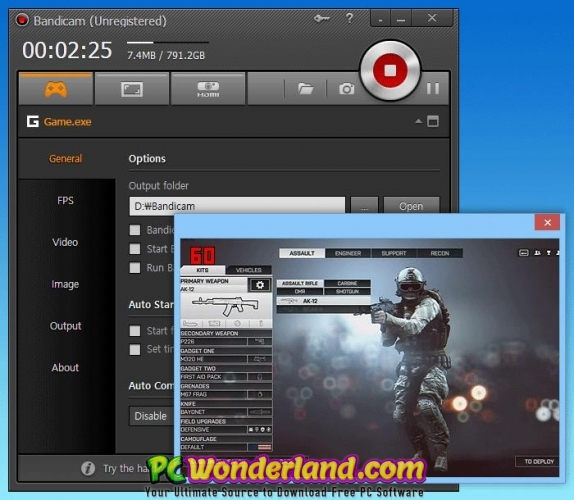 Bandicam 4 3 1 1490 with Portable Free Download - PC Wonderland