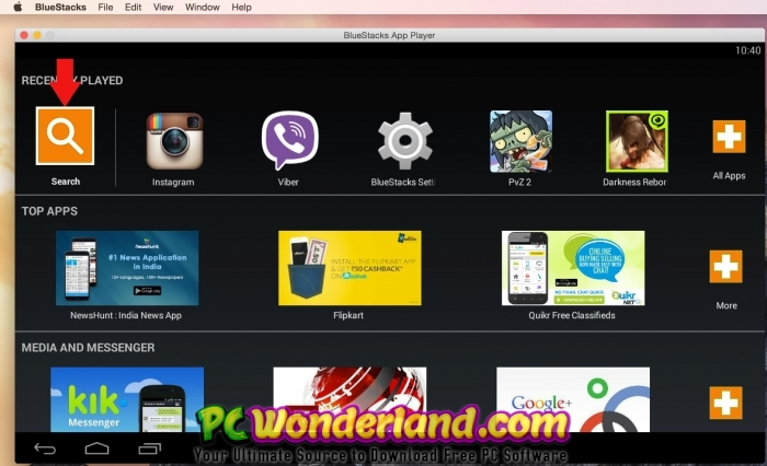 BlueStacks 4 50 0 1043 with MacOS Free Download - PC Wonderland
