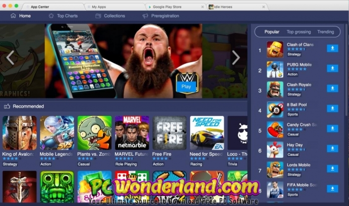 BlueStacks 4 50 0 1043 with MacOS Free Download - PC Wonderland