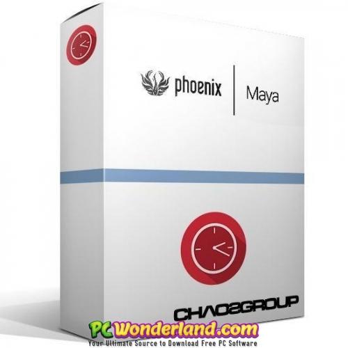 Phoenix FD 3 for Maya 2018 and 3dsMax 2014-2018 Free Download - PC