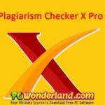 Plagiarism Checker X 6.0.8 Pro Free Download